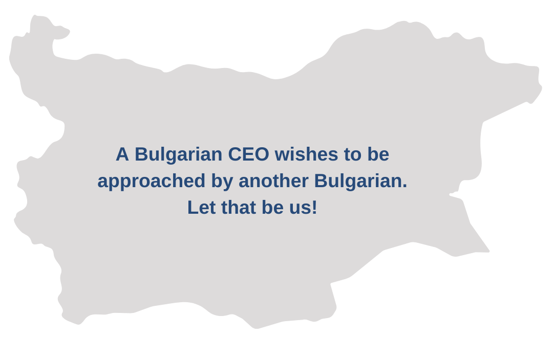 Business partners in Bulgaria